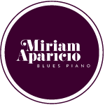 Miriam Aparicio, blues piano
